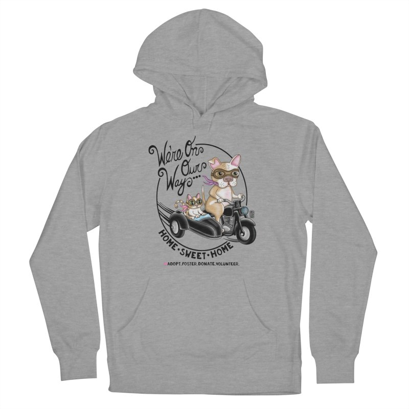 Home Sweet Home Men's French Terry Pullover Hoody by Pigdog