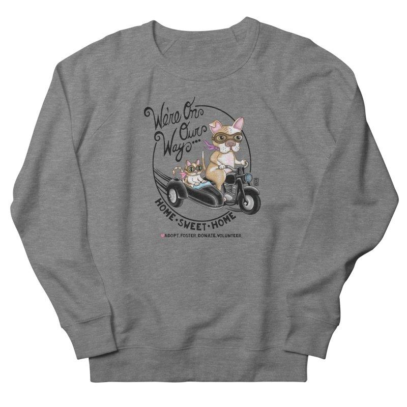 Home Sweet Home Men's French Terry Sweatshirt by Pigdog