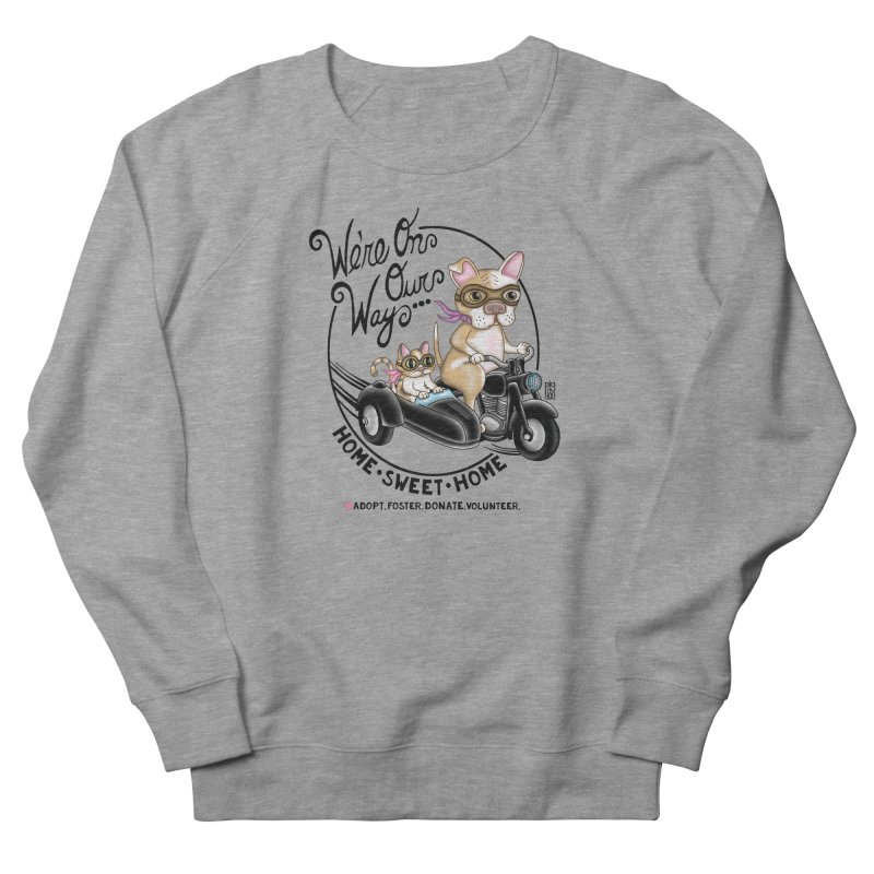 Home Sweet Home Men's French Terry Sweatshirt by Pigdog