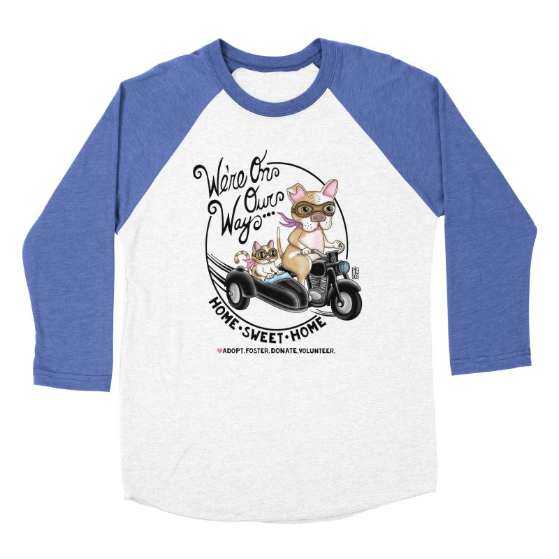 Home Sweet Home Women's Baseball Triblend Longsleeve T-Shirt by Pigdog