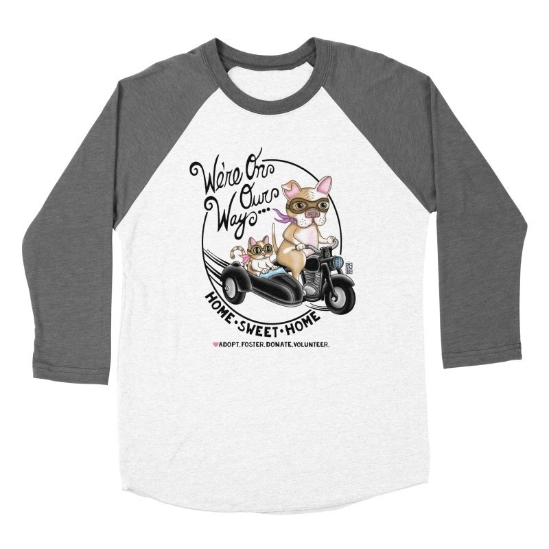Home Sweet Home Women's Baseball Triblend Longsleeve T-Shirt by Pigdog