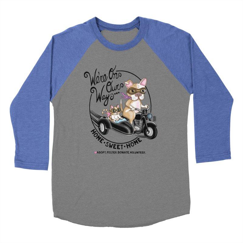 Home Sweet Home Women's Baseball Triblend T-Shirt by Pigdog