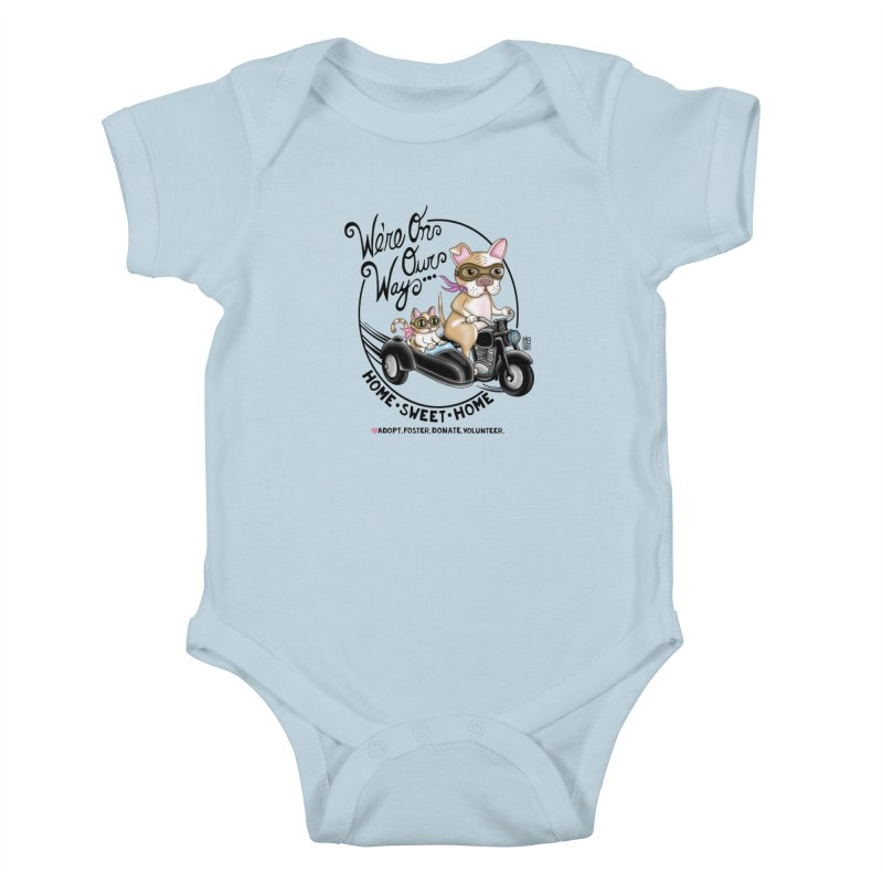 Home Sweet Home Kids Baby Bodysuit by Pigdog