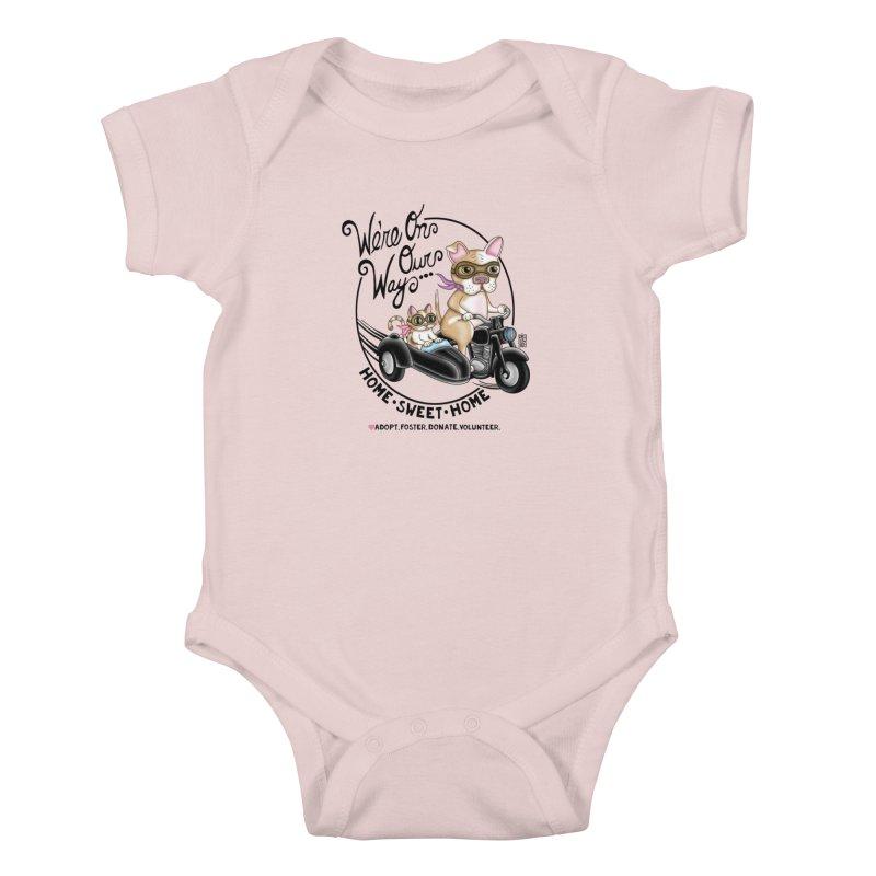 Home Sweet Home Kids Baby Bodysuit by Pigdog