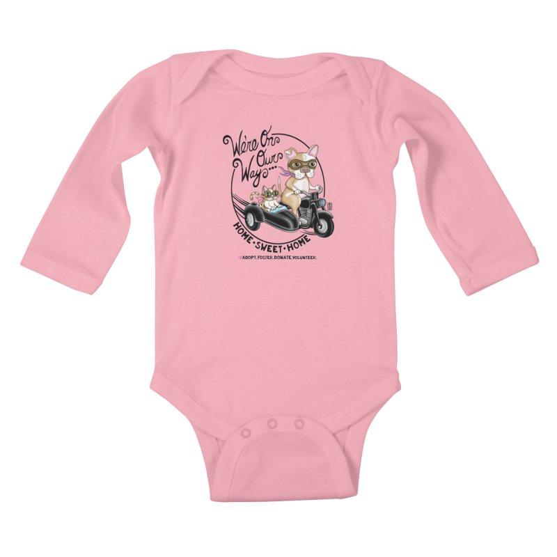 Home Sweet Home Kids Baby Longsleeve Bodysuit by Pigdog