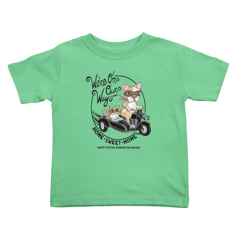 Home Sweet Home Kids Toddler T-Shirt by Pigdog