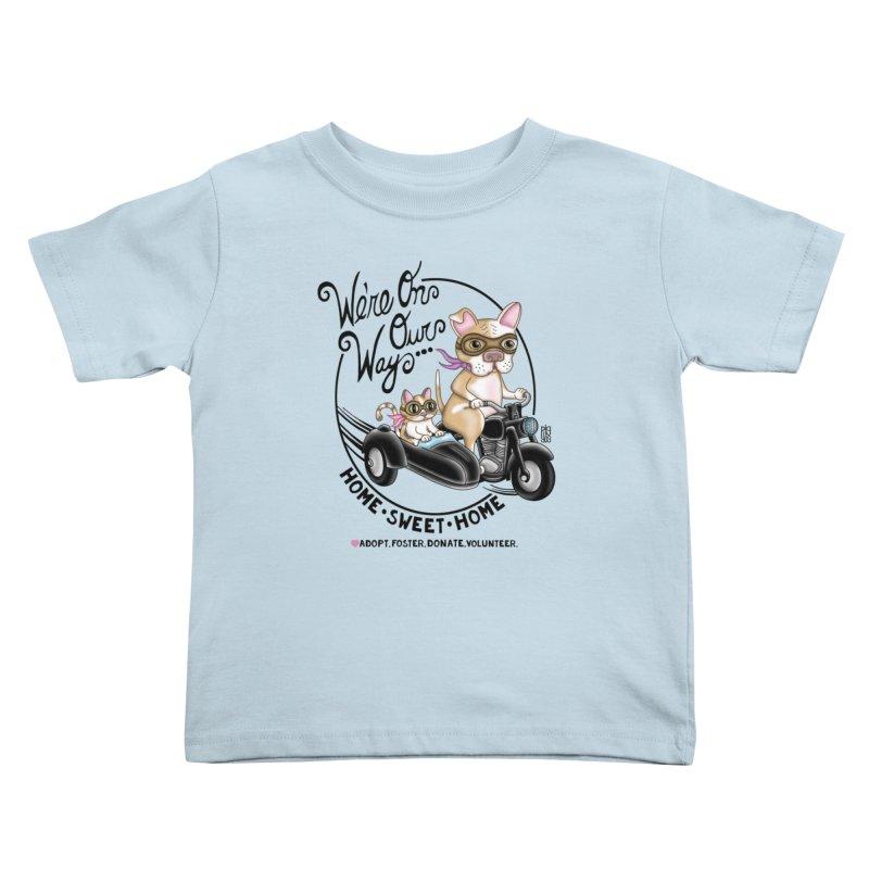 Home Sweet Home Kids Toddler T-Shirt by Pigdog
