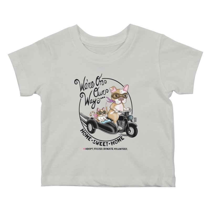 Home Sweet Home Kids Baby T-Shirt by Pigdog