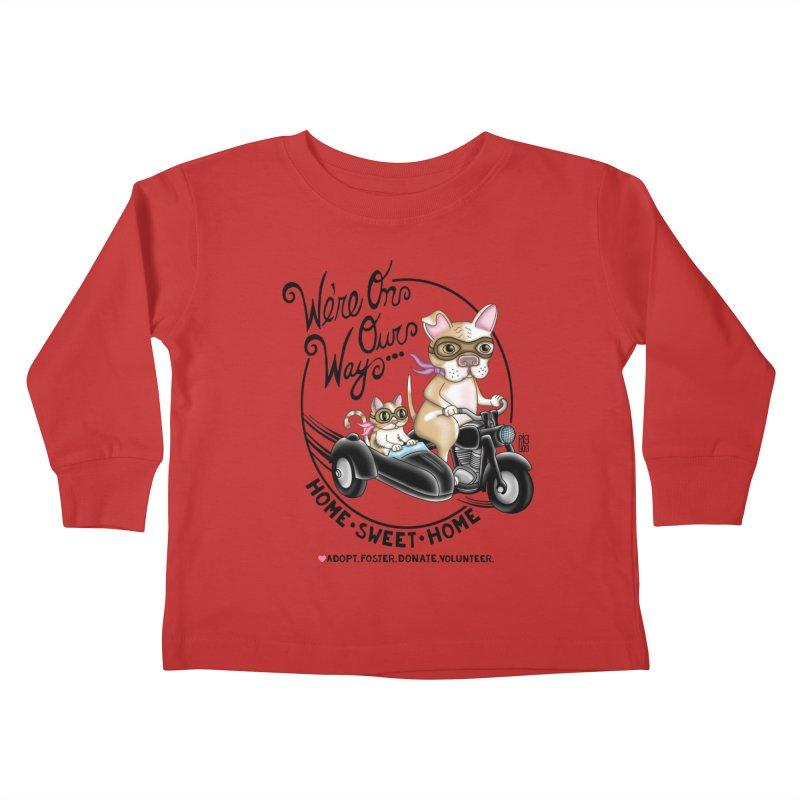 Home Sweet Home Kids Toddler Longsleeve T-Shirt by Pigdog