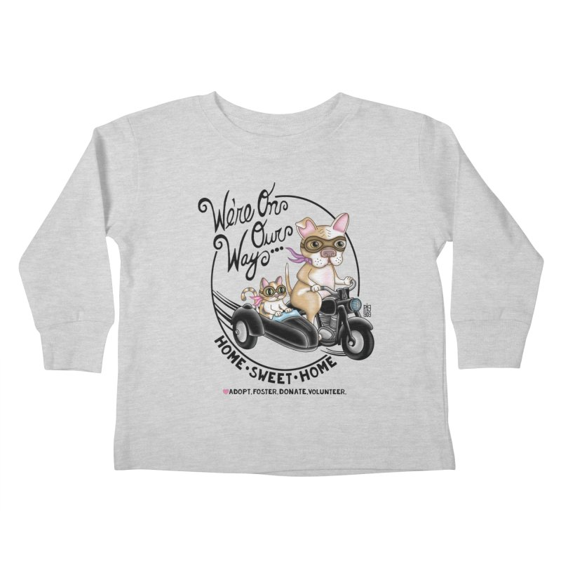 Home Sweet Home Kids Toddler Longsleeve T-Shirt by Pigdog