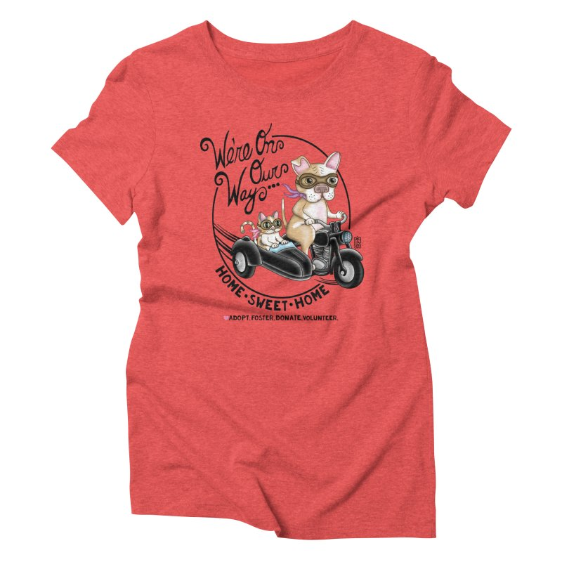 Home Sweet Home Women's T-Shirt by Pigdog