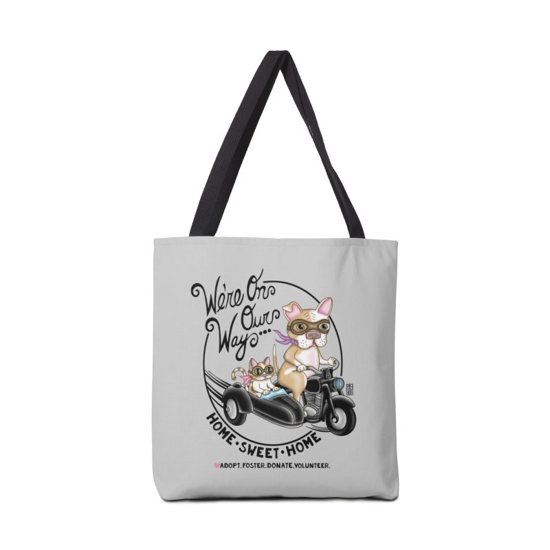 Home Sweet Home Accessories Tote Bag Bag by Pigdog