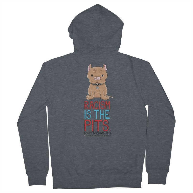 The Pits Men's French Terry Zip-Up Hoody by Pigdog