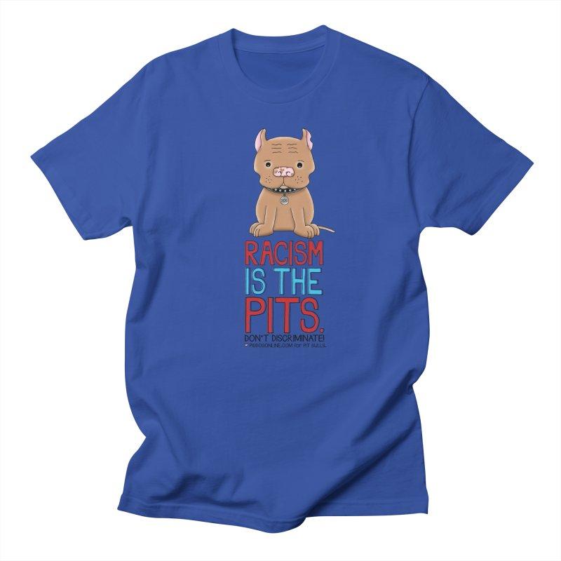 The Pits Men's Regular T-Shirt by Pigdog