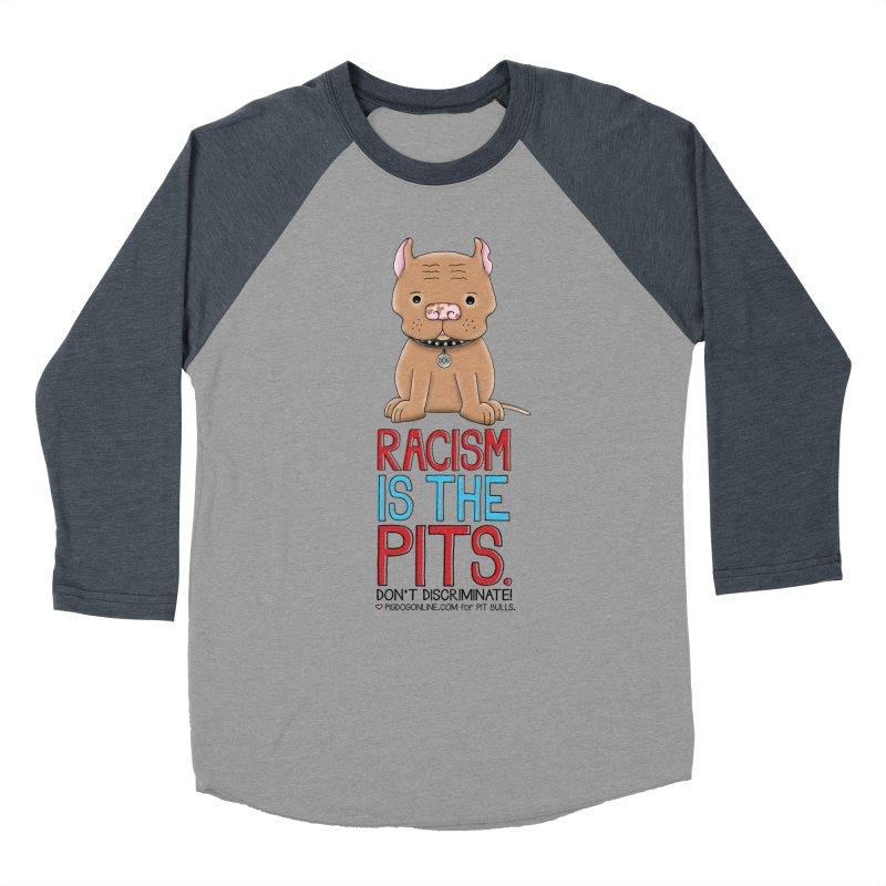The Pits Men's Baseball Triblend T-Shirt by Pigdog