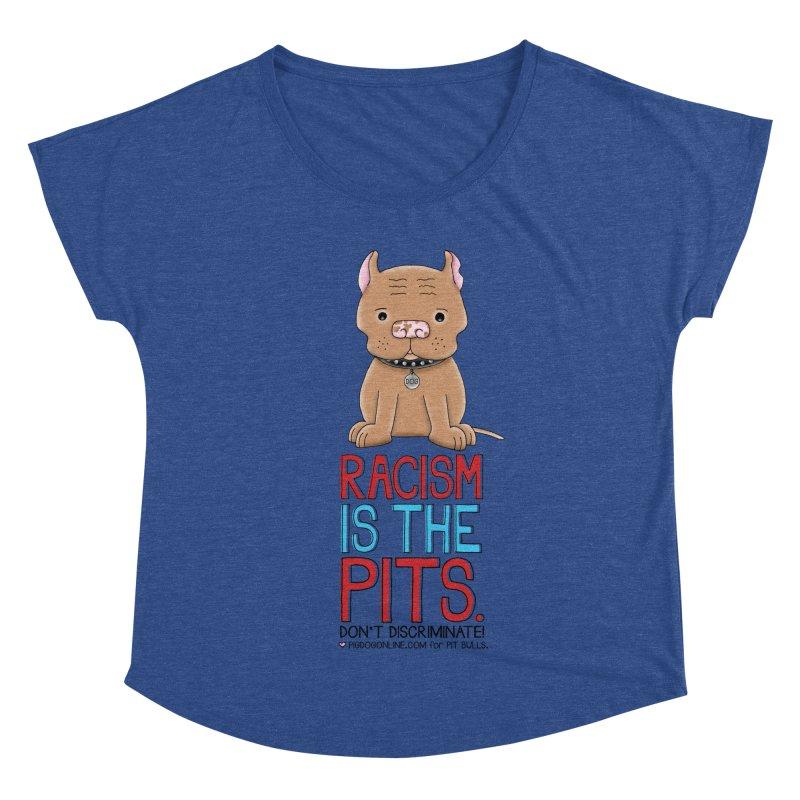 The Pits Women's Dolman Scoop Neck by Pigdog