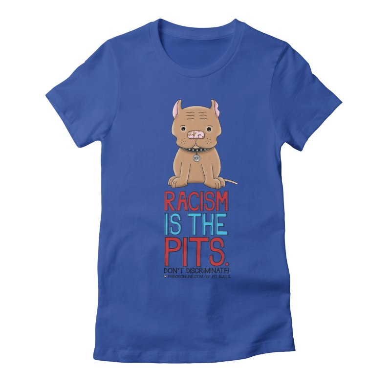 The Pits Women's Fitted T-Shirt by Pigdog