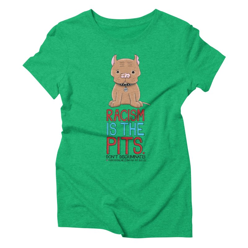 The Pits Women's Triblend T-Shirt by Pigdog