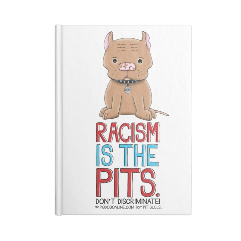 The Pits Accessories Lined Journal Notebook by Pigdog