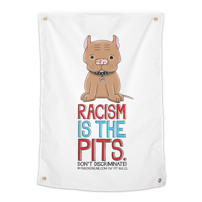 The Pits Home Tapestry by Pigdog