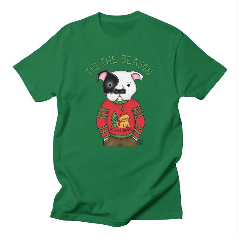 Ugly Xmas Sweater Men's T-Shirt by Pigdog