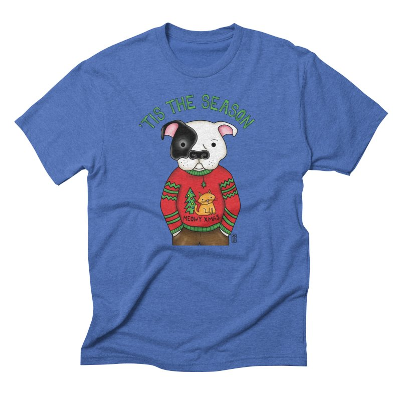 Ugly Xmas Sweater Men's T-Shirt by Pigdog