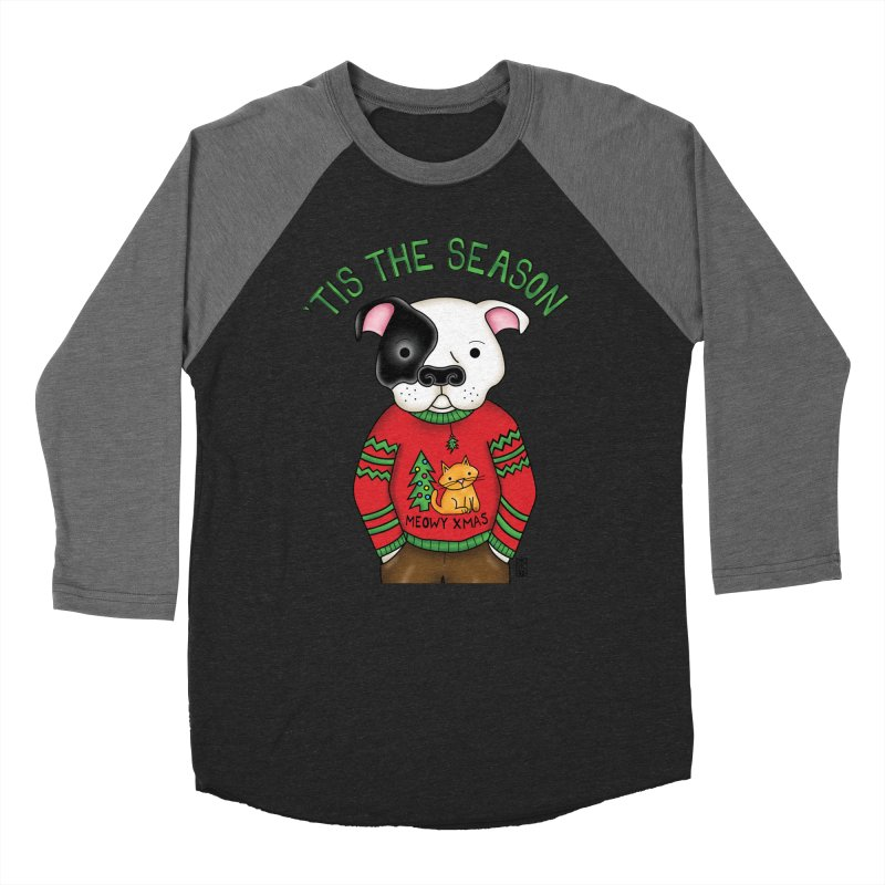 Ugly Xmas Sweater Women's Longsleeve T-Shirt by Pigdog
