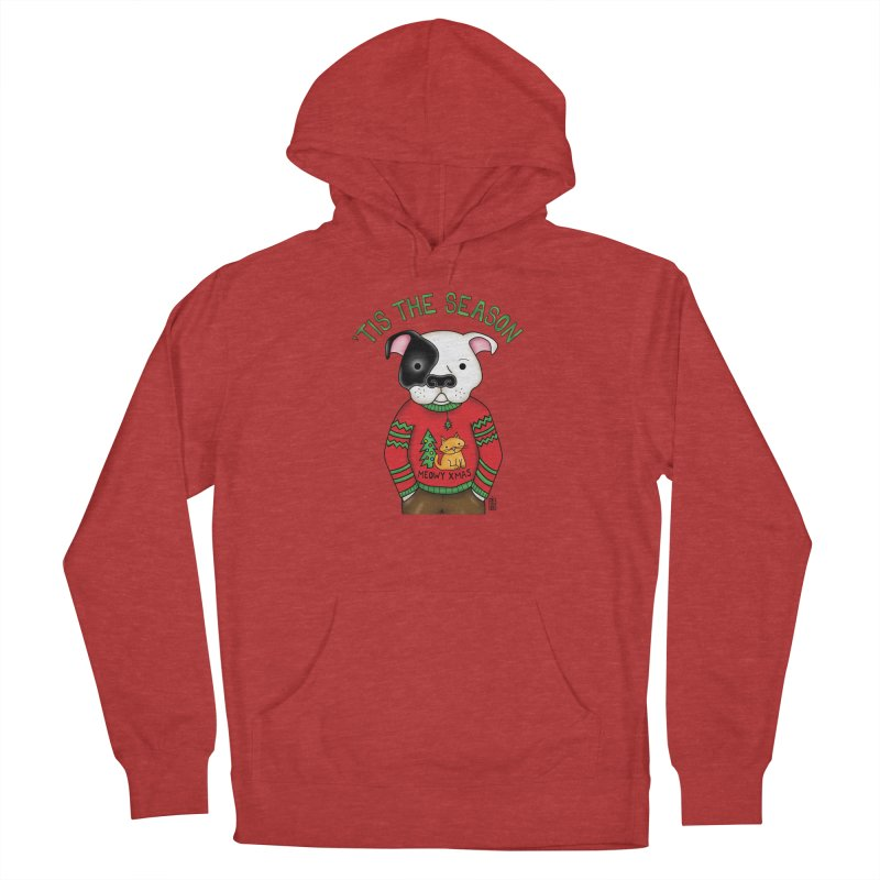 Ugly Xmas Sweater Women's French Terry Pullover Hoody by Pigdog