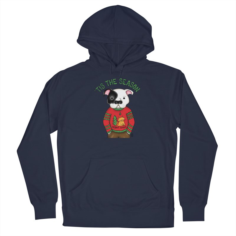 Ugly Xmas Sweater Men's Pullover Hoody by Pigdog