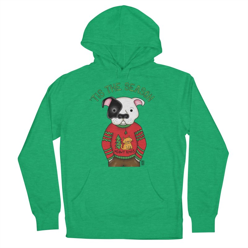 Ugly Xmas Sweater Women's Pullover Hoody by Pigdog