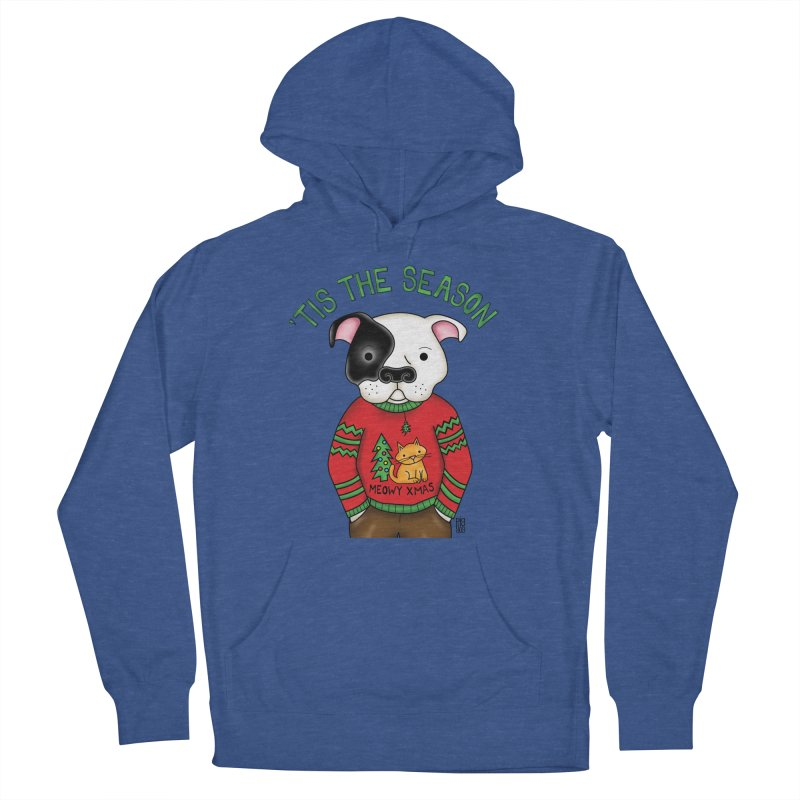 Ugly Xmas Sweater Men's French Terry Pullover Hoody by Pigdog