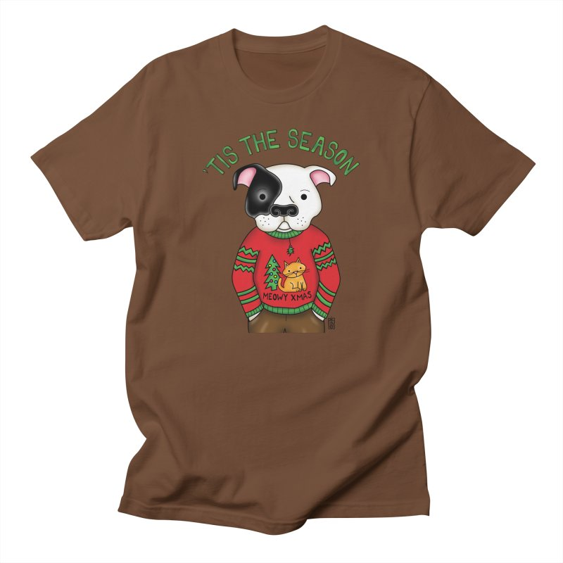 Ugly Xmas Sweater Men's Regular T-Shirt by Pigdog