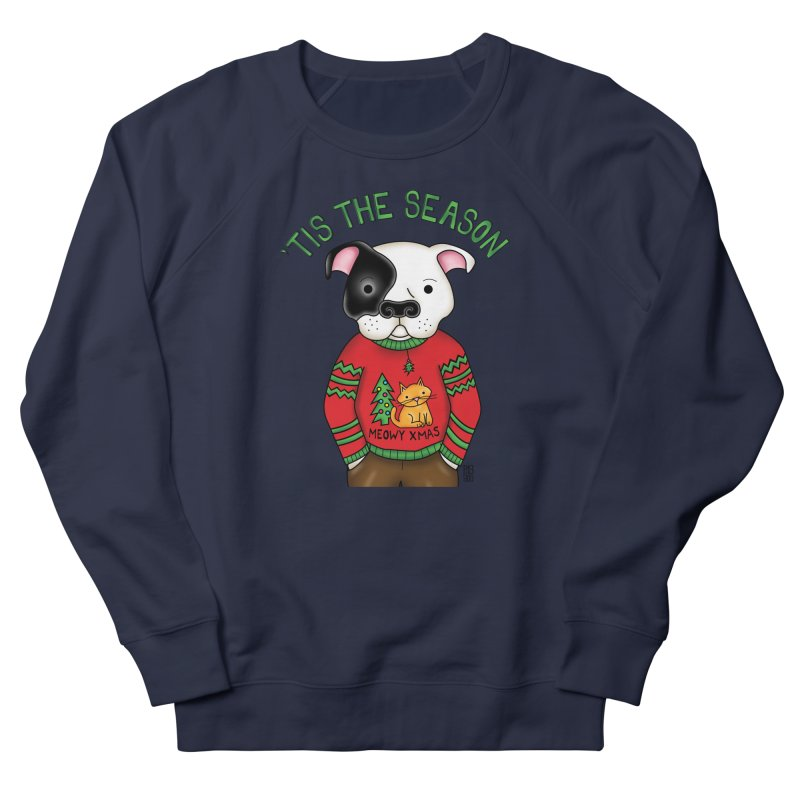 Ugly Xmas Sweater Men's French Terry Sweatshirt by Pigdog