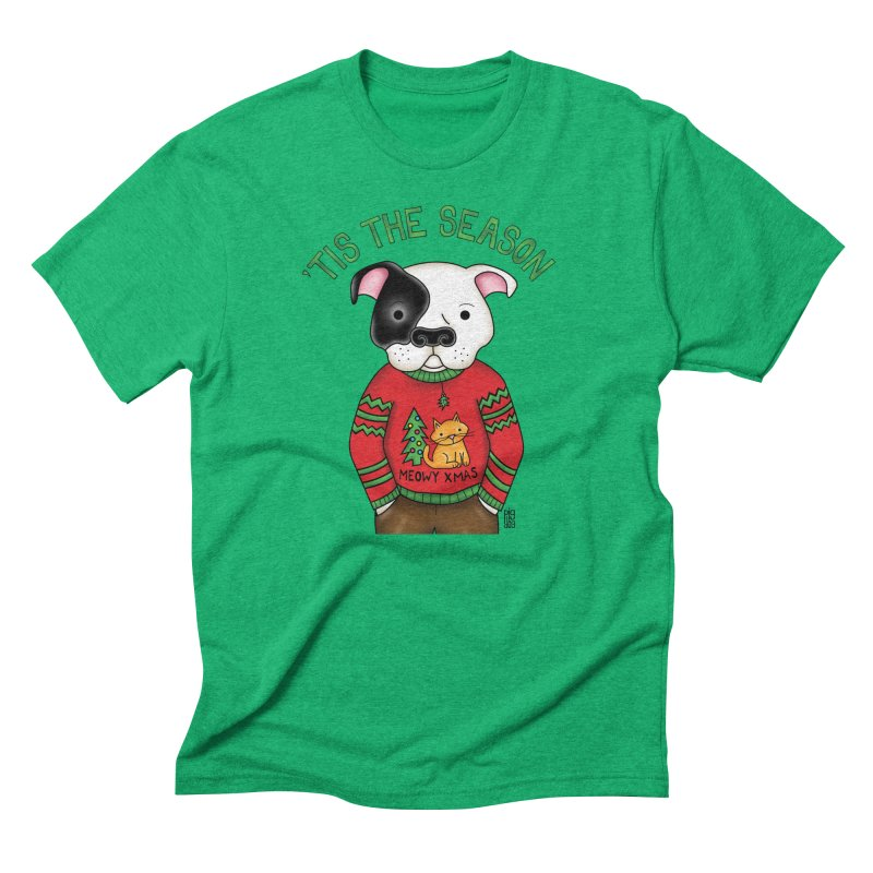 Ugly Xmas Sweater Men's Triblend T-Shirt by Pigdog