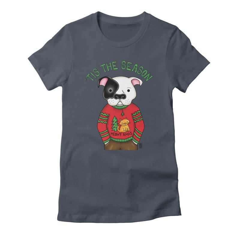 Ugly Xmas Sweater Women's T-Shirt by Pigdog