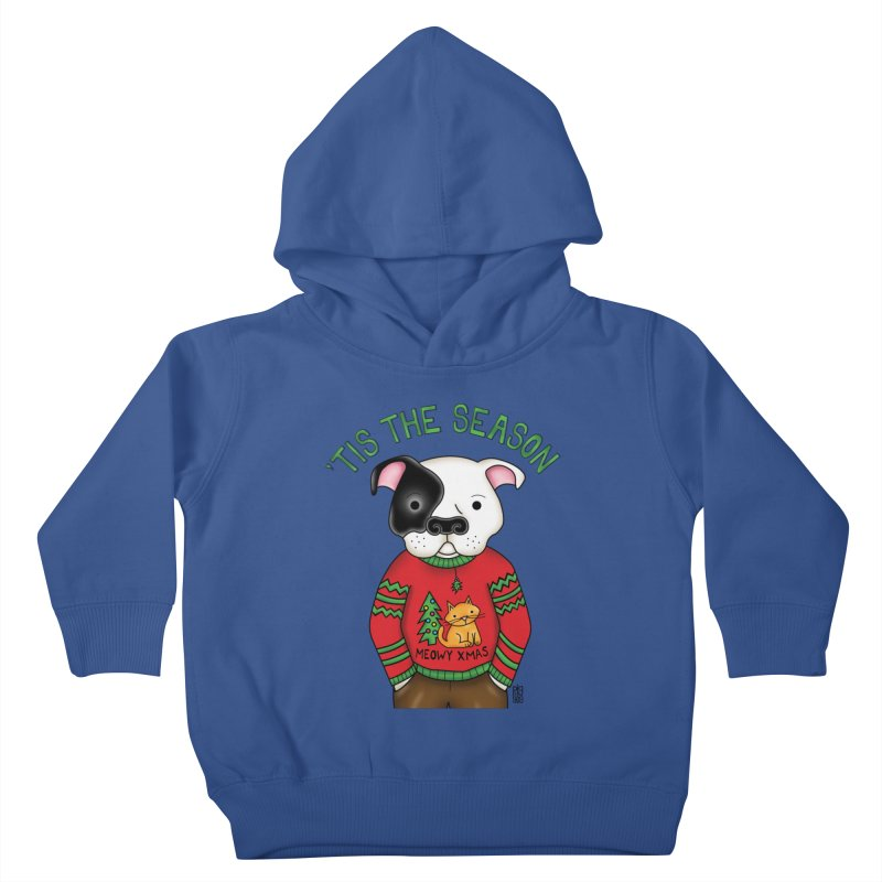 Ugly Xmas Sweater Kids Toddler Pullover Hoody by Pigdog