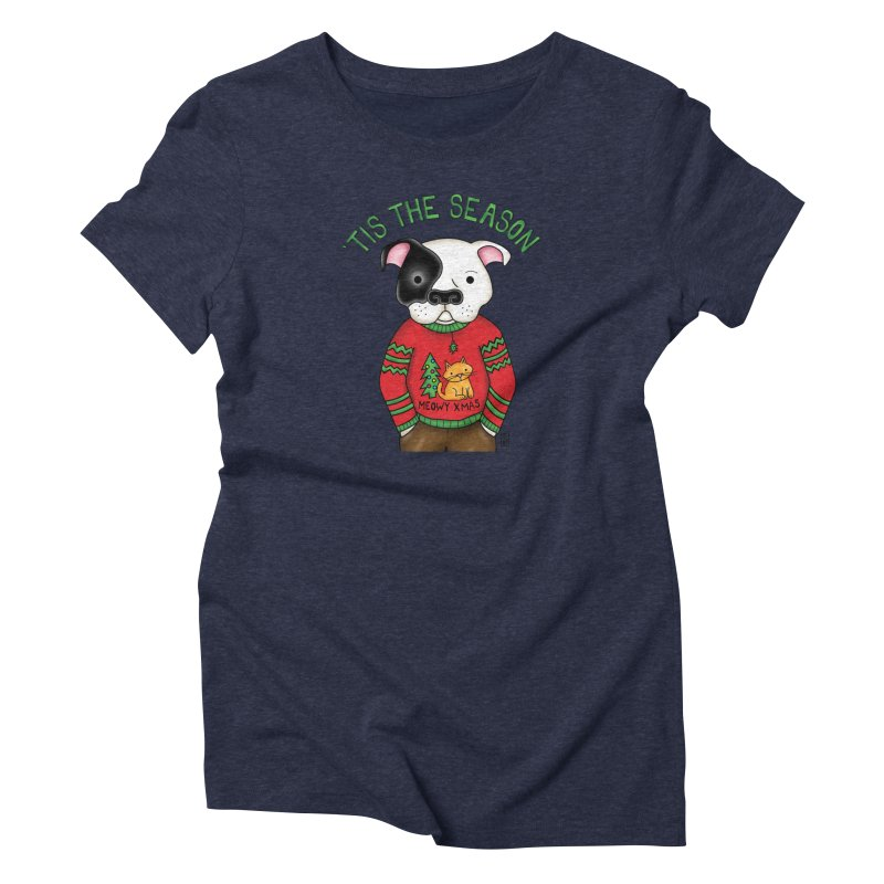 Ugly Xmas Sweater Women's T-Shirt by Pigdog