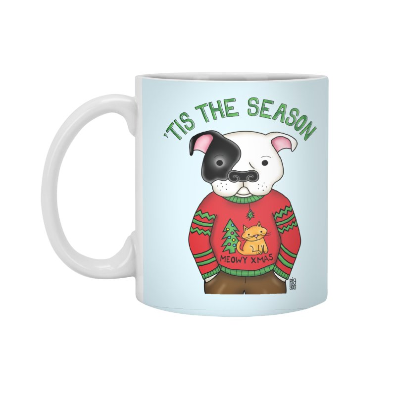Ugly Xmas Sweater Accessories Mug by Pigdog
