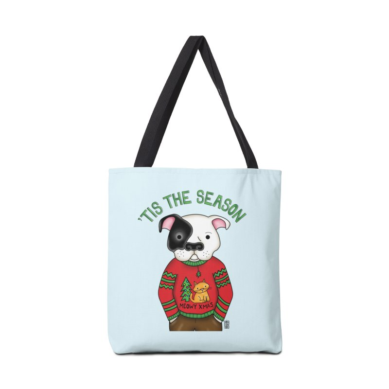 Ugly Xmas Sweater Accessories Tote Bag Bag by Pigdog