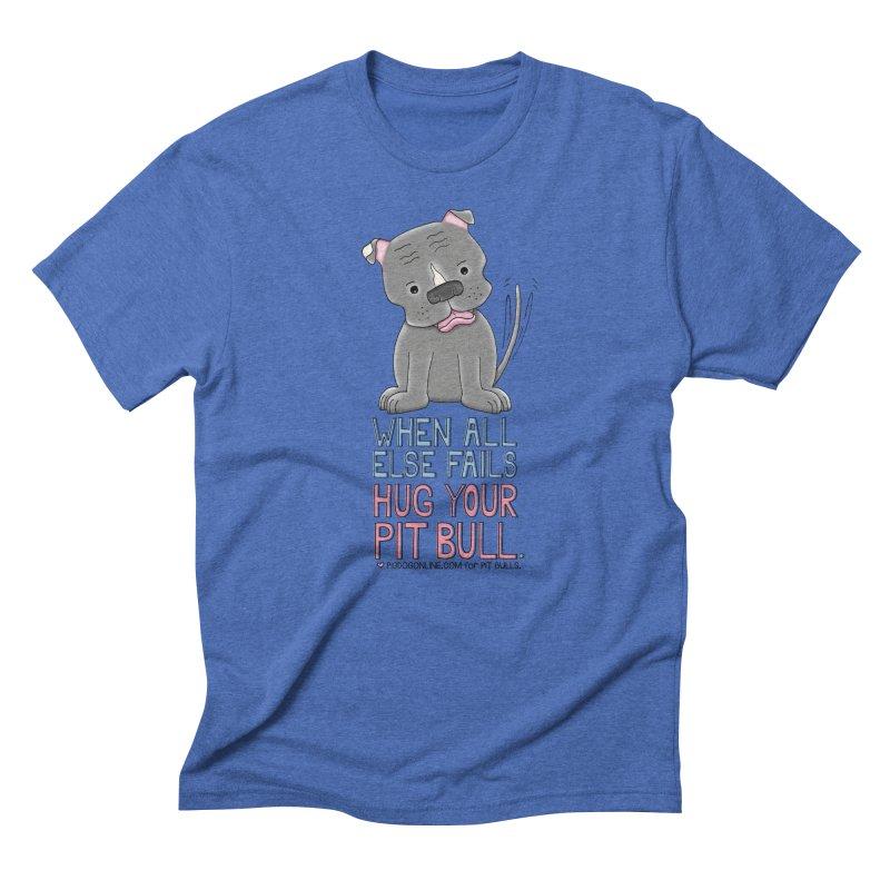 When All Else Fails Men's T-Shirt by Pigdog