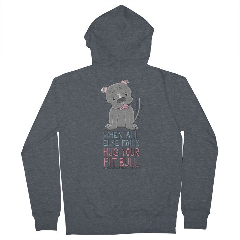 When All Else Fails Women's French Terry Zip-Up Hoody by Pigdog