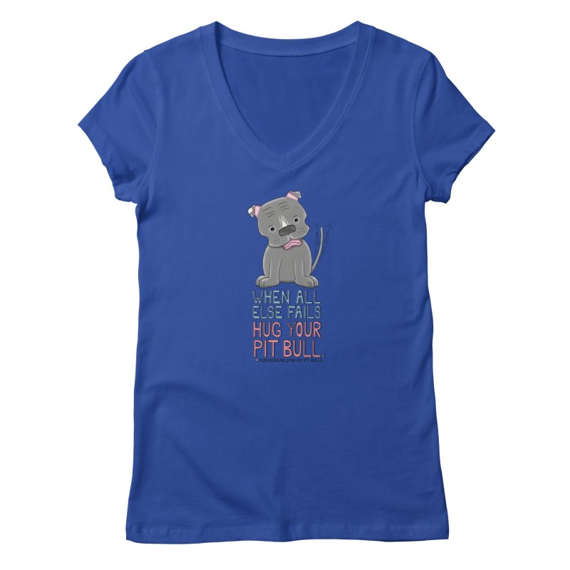 When All Else Fails Women's V-Neck by Pigdog
