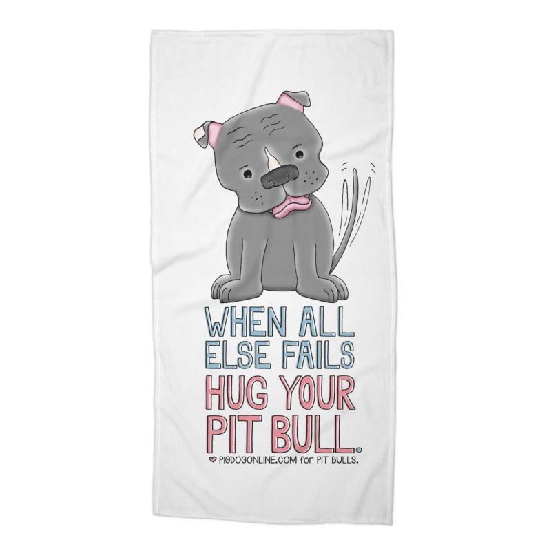 When All Else Fails Accessories Beach Towel by Pigdog