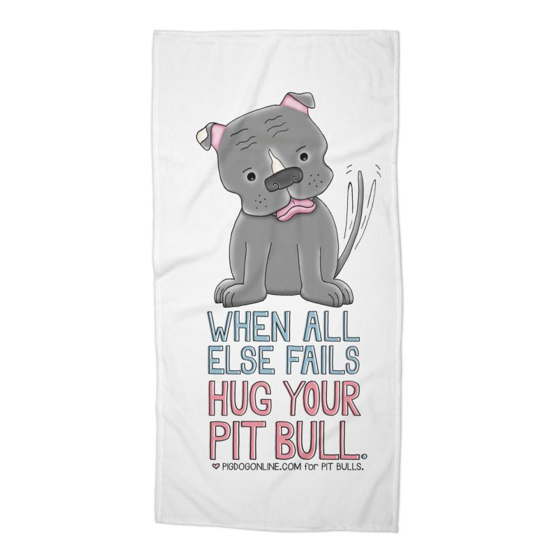When All Else Fails Accessories Beach Towel by Pigdog