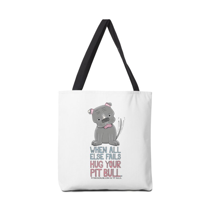 When All Else Fails Accessories Tote Bag Bag by Pigdog