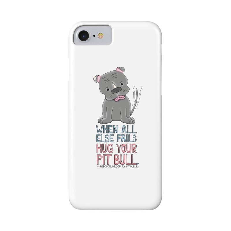 When All Else Fails Accessories Phone Case by Pigdog