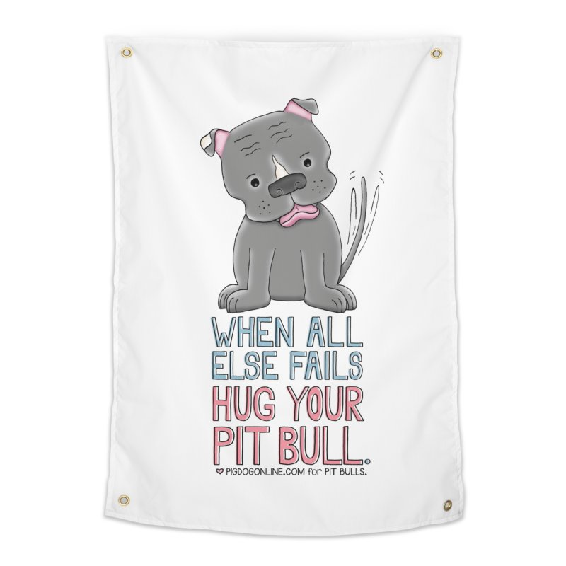 When All Else Fails Home Tapestry by Pigdog