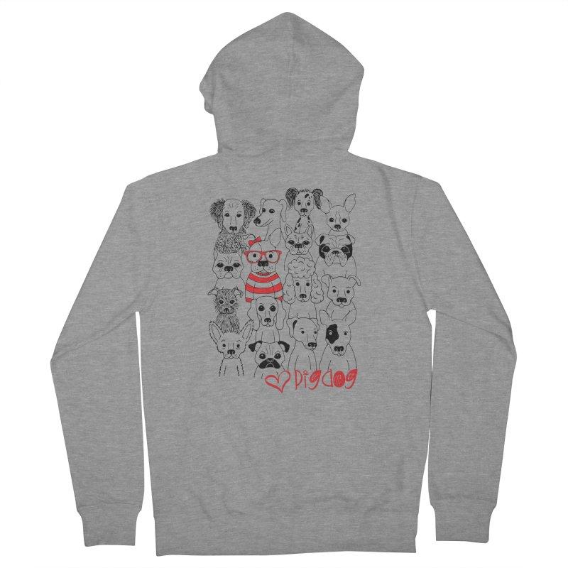 Where's Stella Men's Zip-Up Hoody by Pigdog