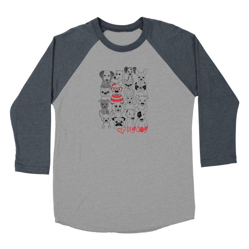 Where's Stella Men's Baseball Triblend Longsleeve T-Shirt by Pigdog