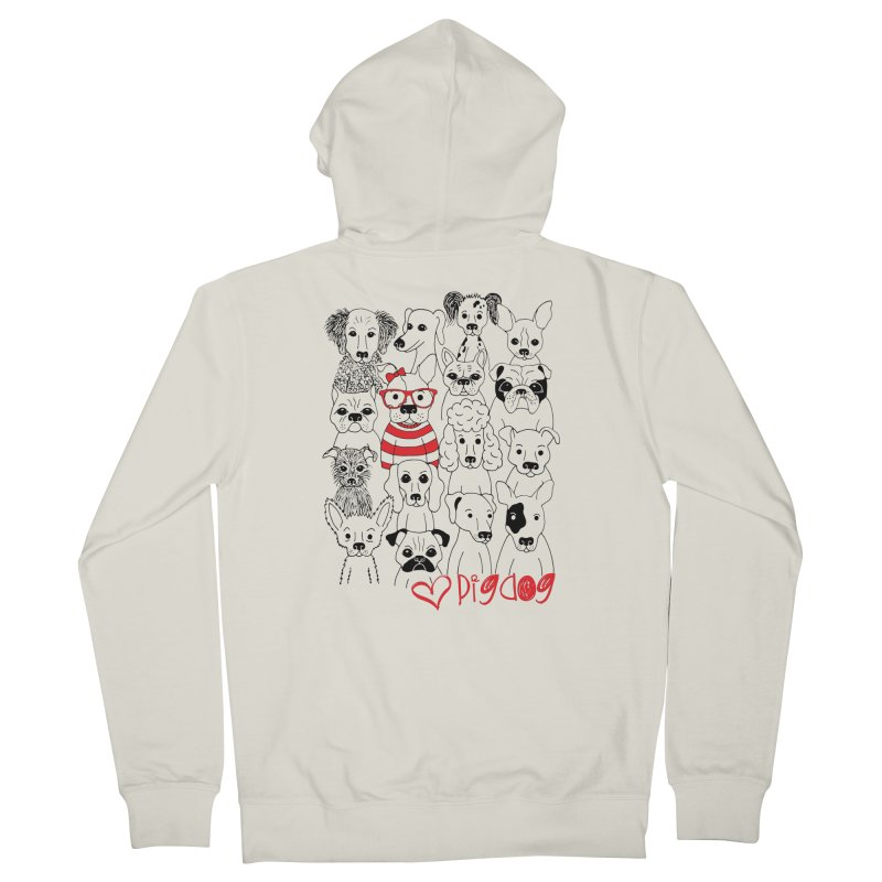 Where's Stella Women's Zip-Up Hoody by Pigdog